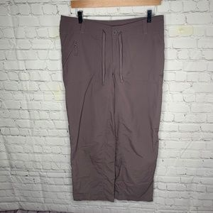 The North Face Gray Nylon Outdoor Pants Size 10S